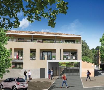 PROGRAMME D'APPARTEMENTS NEUFS AIX-EN-PROVENCE / PALETTE - LE THOLONET